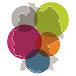 Deutschlandkarte mit regionalen Bereichen